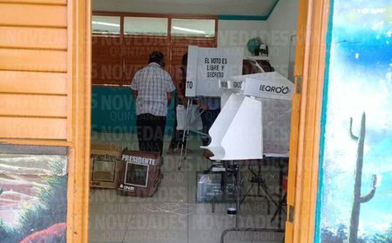 Río Hondo listos para votas. (Carlos Castillo)