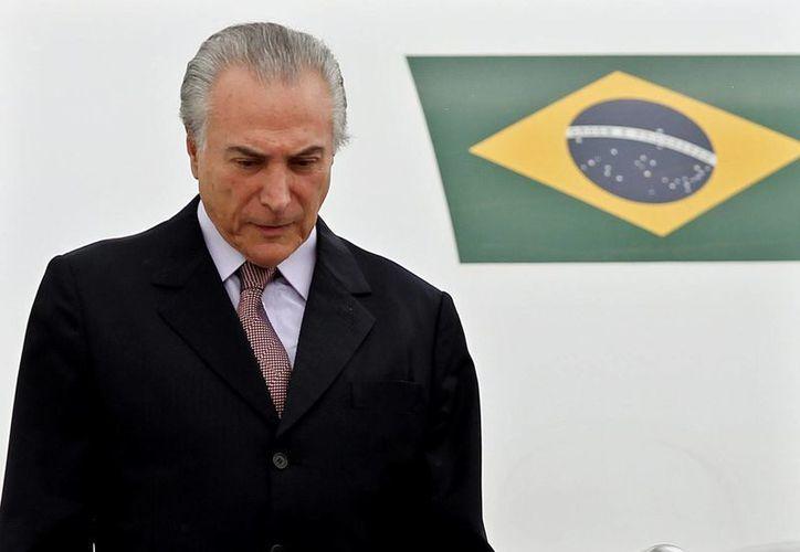 El vicepresidente brasileño, Michel Temer, es el segundo en el poder en Brasil y también podría enfrentar un juicio político. (EFE/Archivo)