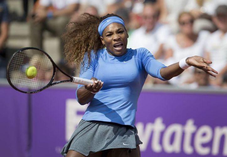 Serena Williams consigue un triunfo más. (Agencias)