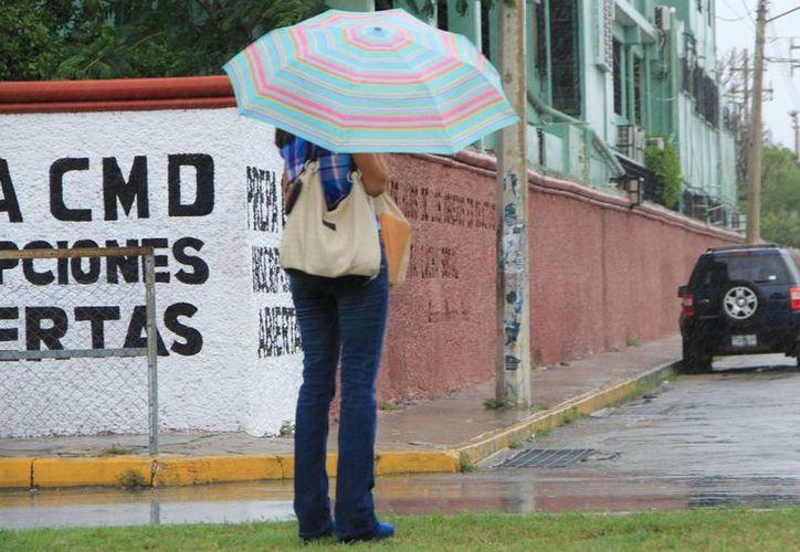 El jueves se registraron lluvias en diversos puntos de Mérida. (José Acosta/SIPSE)