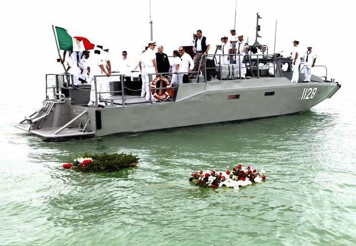 El anuncio se dio a conocer en el marco del LXXIII aniversario del Día de la Marina en Chetumal. (Harold Alcocer/SIPSE)