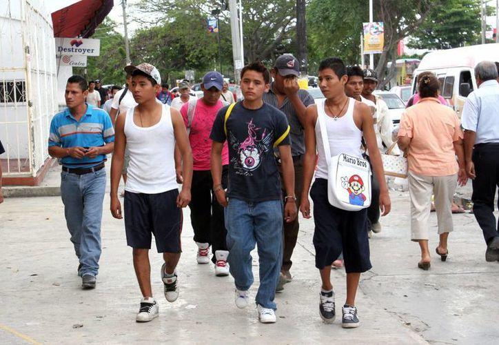 La campaña es para darles un repiro a los jóvenes que estan inmersos en la violencia. (Israel Leal/SIPSE)