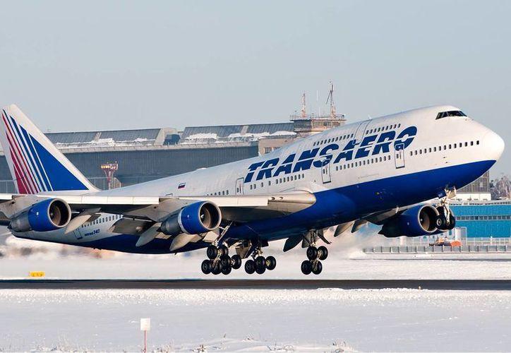 Transaero operará dos de los vuelos a Moscú. (Israel leal/SIPSE)