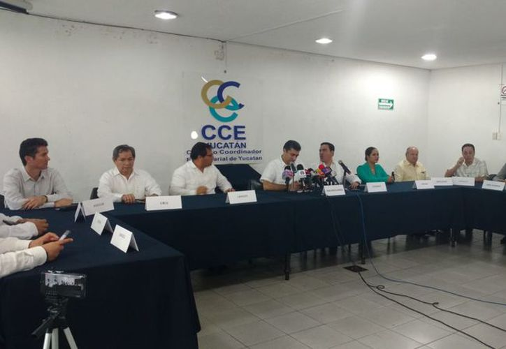 Este martes el CCE ofreció una conferencia de prensa. (C. Robles/Milenio Novedades)