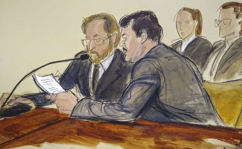 """El equipo de abogados de Joaquín """"El Chapo"""" Guzmán apeló la sentencia que recibió el mexicano la semana pasada. (AP)"""