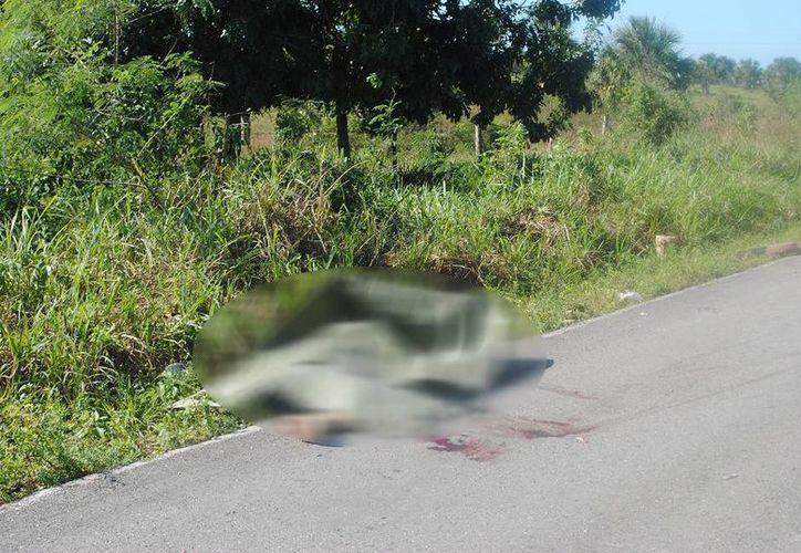 Uno de los accidente se registró en la carretera Tizimín-Colonia Yucatán. (Milenio Novedades)