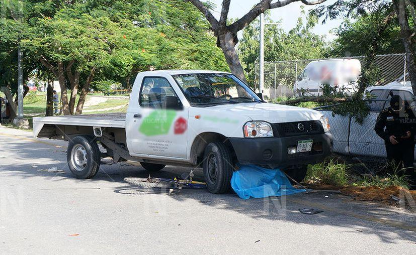 Muere ciclista en el Periférico Sur de Mérida. (SIPSE)