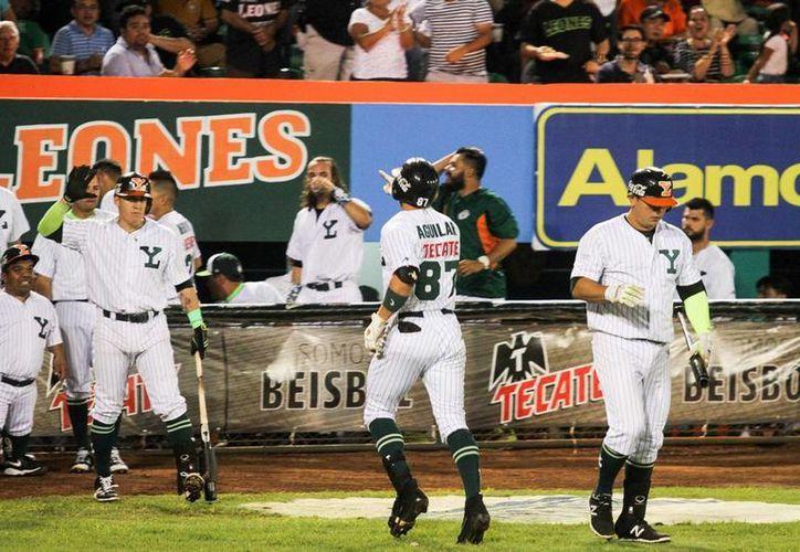 Leones de Yucatán volvió a demostrar por qué lidera la Zona Sur de la Liga Mexicana de Beisbol al derrotar a Guerreros de Oaxaca. (Milenio Novedades)