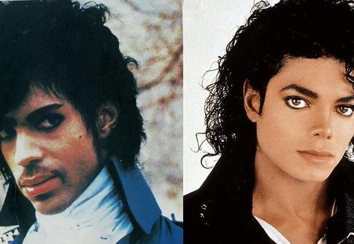 Prince y Micheal Jackson son considerados dos figuras revolucionaras del pop en el siglo XX. (Imagen tomada de Excelsior)