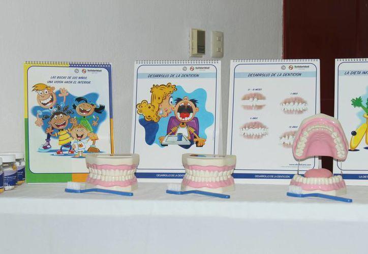 El objetivo de la campaña es impartir actividades didácticas que enseñen a los niños la importancia del cuidado dental. (Carlos Calzado/SIPSE)