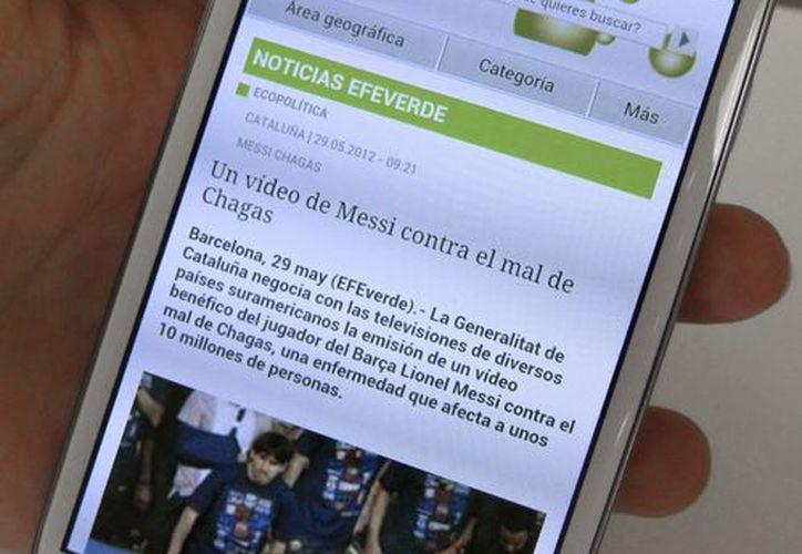 El nuevo teléfono móvil 'inteligente' de Samsung, el Galaxy S3. (Archivo/EFE)