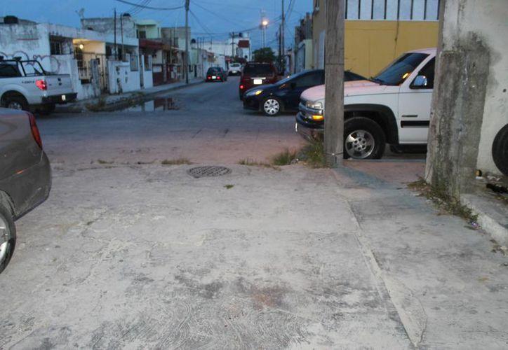 Los hechos se registraron en la colonia Donceles 28. (Eric Galindo/SIPSE)