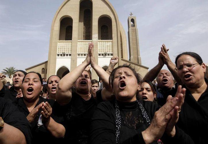 Los cristianos coptos son el 10% de la población egipcia. (Agencias)