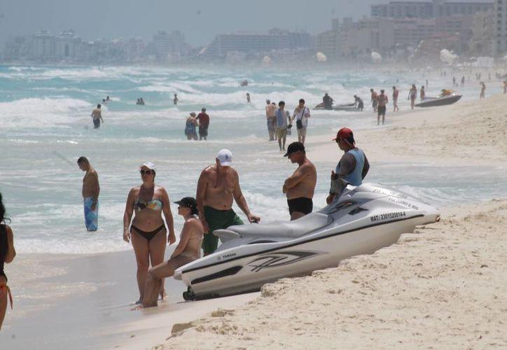 Riviera Maya, Cancún y los Tesoros del Caribe son los destinos que atraen a los turistas. (Israel Leal/SIPSE)