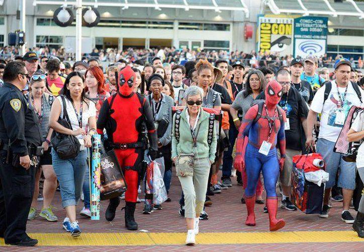 Los fanáticos del cosplay y comics disfrutarán de la mega convención en  el Pepsi Center WTC, el próximo año. (Internet)