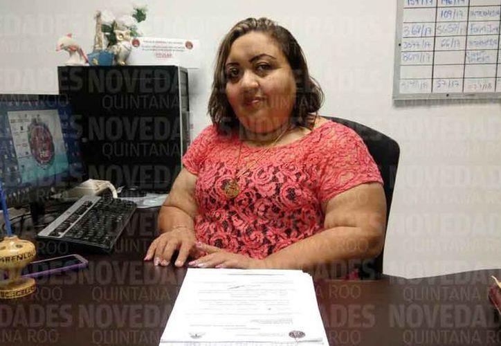 Guadalupe del Carmen Reyes Pinzón, titular de la Fiscalía de Atención a la Mujer. (Eric Galindo/SIPSE)