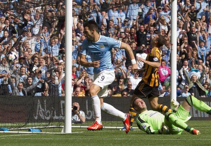 Los goles del City fueron de Negredo y Touré. (Foto: Agencias)