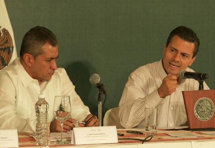 El Presidente de la República dijo que México es el productor de alimentos número 13 a nivel mundial. (Presidencia)