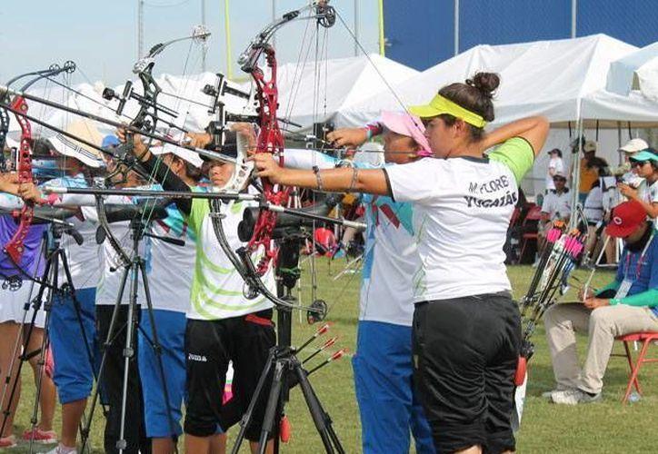 Los arqueros yucatecos tienen una destacada participación en la ON. (Milenio Novedades)