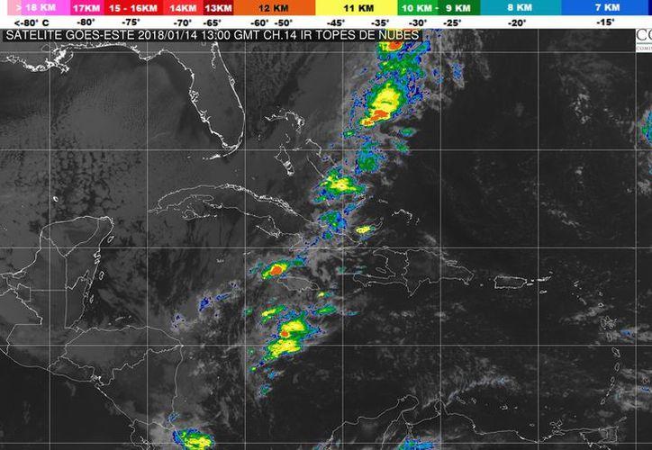 Se prevé un cielo mayormente nublado para Cancún. (Servicio Meteorológico Nacional)