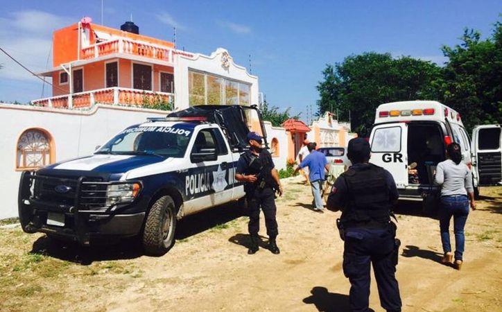 Un par de sujetos encapuchados golpearon a un extranjero en su vivienda para robarle y huir. (Javier Ortiz/SIPSE)