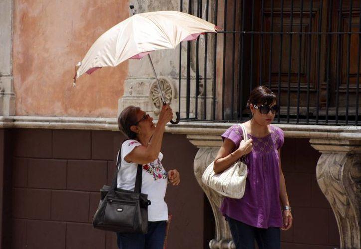Ayer domingo la temperatura máxima en Mérida fue de 31.2 grados. (Christian Ayala)