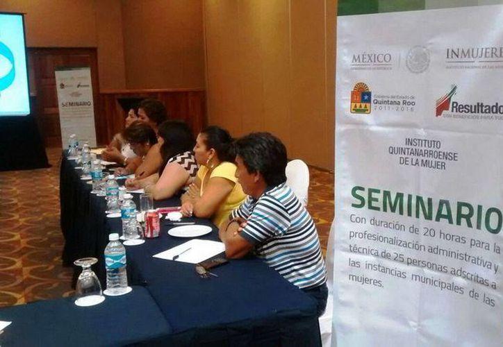 El seminario se llevará a cabo hasta el 4 de septiembre. (Redacción/SIPSE)