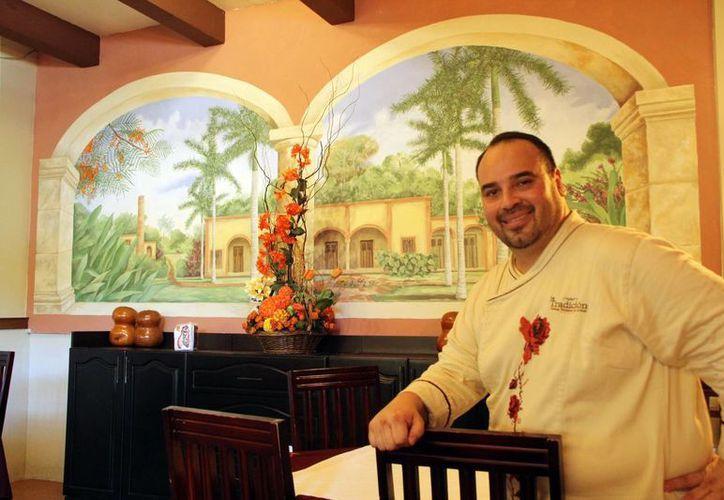 El chef David Cetina ya cocinó para expresidentes de México y diversas personalidades. (Milenio Novedades)