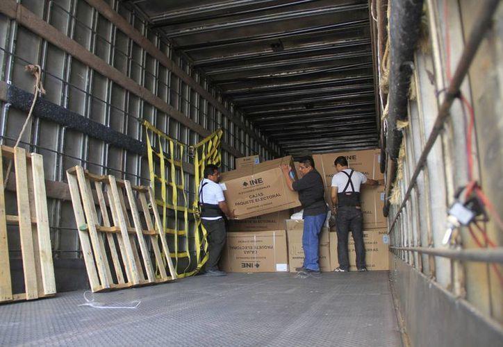 El material que se entregó es de casi 10 toneladas. (Harold Alcocer/SIPSE)