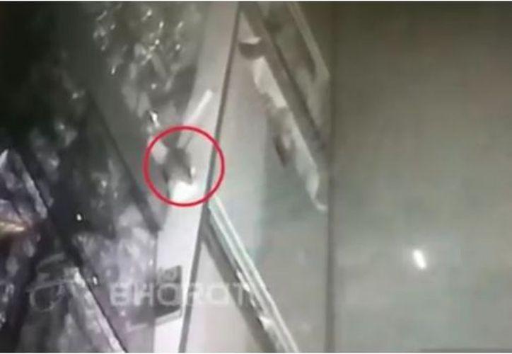 El pequeño ladrón no fue atrapado por lo que es probable que vuelva a delinquir. (SDP)