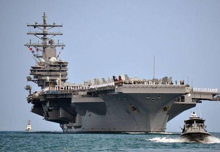 Los portaaviones han demostraron su utilidad en varias operaciones navales. (US Navy)