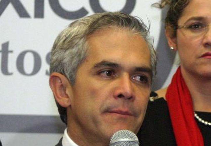 Miguel Ángel Mancera indicó que el pago correspondiente se hará a la empresa Promotora Internacional Santa Fe. (Notimex)