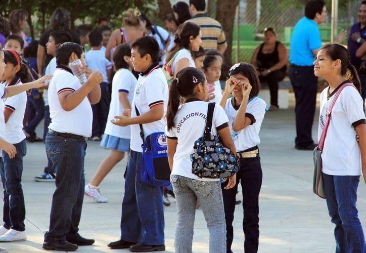 En las secundarias de Yucatán se registra un incremento de matrícula durante los últimos tres años. (Milenio Novedades)