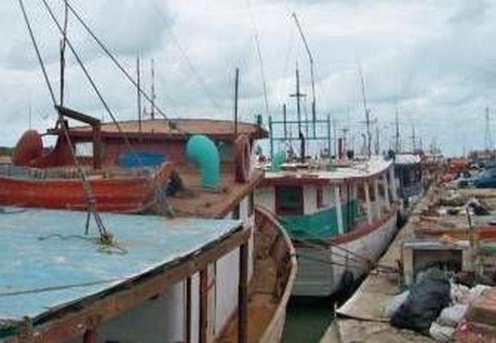 El cierre de puertos se ordenó el pasado viernes y este lunes a las 6 de la mañana fueron reabiertos. (Óscar Pérez/SIPSE)