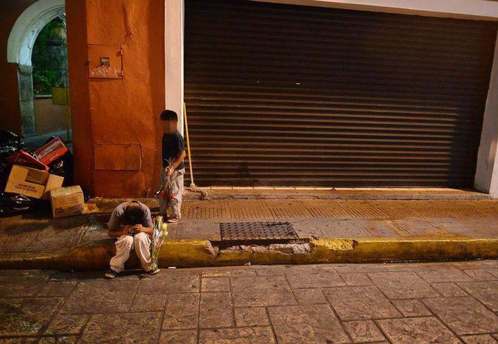Existen pocos casos de niños locales que trabajan en la calle, pero son mínimos; los demás en general provienen de Oaxaca y Chiapas. (Milenio Novedades)