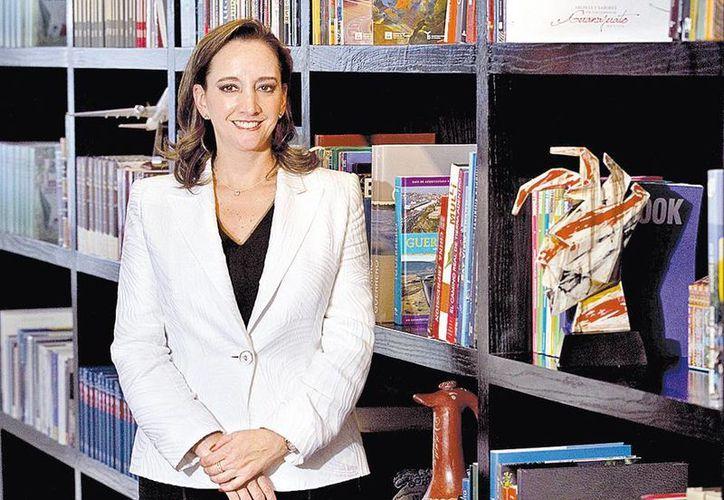 """En las próximas semanas tendremos """"otro anuncio muy importante de una inversión"""", dijo Claudia Ruiz Massieu, secretaria de Turismo. (Milenio)"""