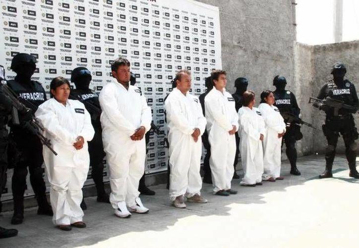 El secuestro es un delito cada vez más común en México. En la gráfica una banda de plagiarios de Hidalgo. (Archivo Notimex)