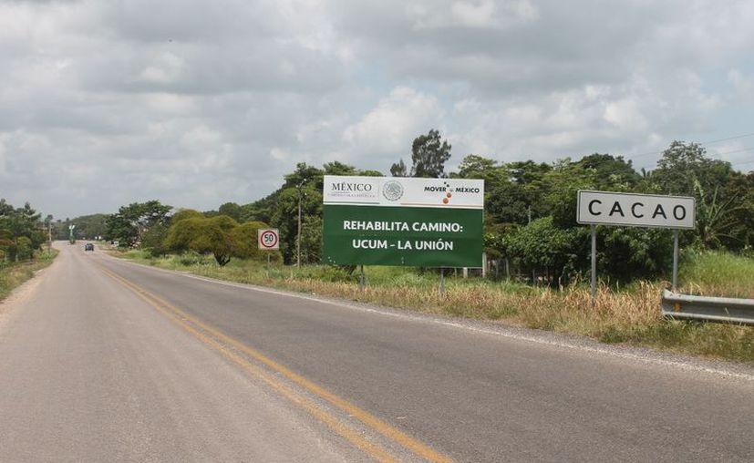 La comunidad de Cacao está sin energía eléctrica desde el fin de semana pasado. (Carlos Castillo/SIPSE)
