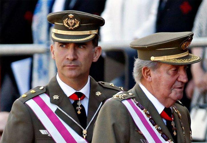 La coronación de Felipe VI como rey de España en sustitución de su padre Juan Carlos podría producirse el 23 de junio. (Foto tomada de: excelsior.com.mx)