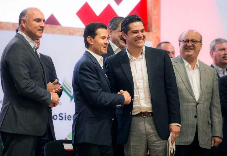 Peña Nieto encabezó la inauguración de la Expo México Alimentaria 2016 Food Show. (Presidencia)