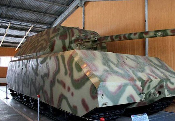Maus, tanque de asalto superpesado, fue propuesto en 1943. (actualidad.rt.com)