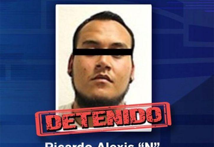 El traslado de Ricardo Alexis, se realizó a las 02:00 horas de este martes. (Milenio)