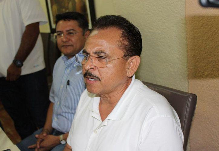Martín de la Cruz denuncia que hay trasfondo político en la detención de sus guardaespaldas. (Foto: SIPSE)