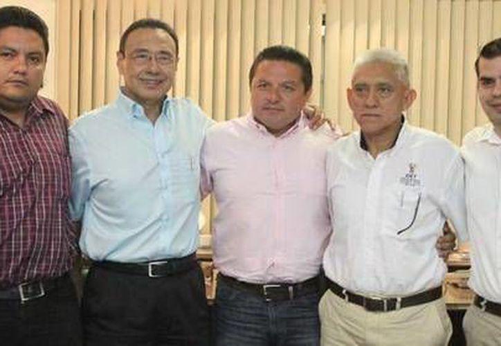 Organizadores del torneo. (Jesús Erosa/SIPSE)