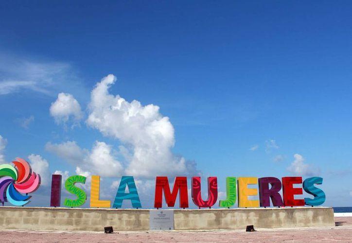 Isla Mujeres tiene desde ayer un parador fotográfico. (Luis Soto/SIPSE)