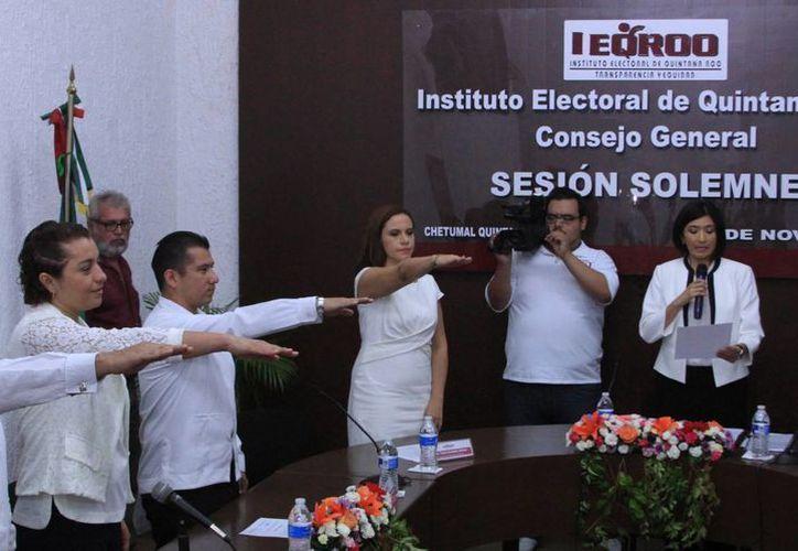 Luego de la acusación en contra de la consejera electoral Claudia Carrillo Gasca, se ha pedido que se investigue a todos los integrantes del Consejo del Ieqroo. (Ángel Castilla/SIPSE)
