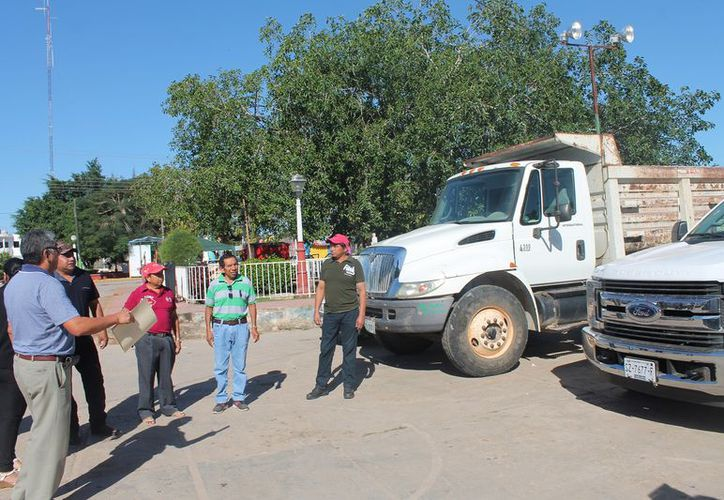 Los trabajos se llevaron a cabo en las instalaciones de la Casa Ejidal. (Raúl Balam/SIPSE)