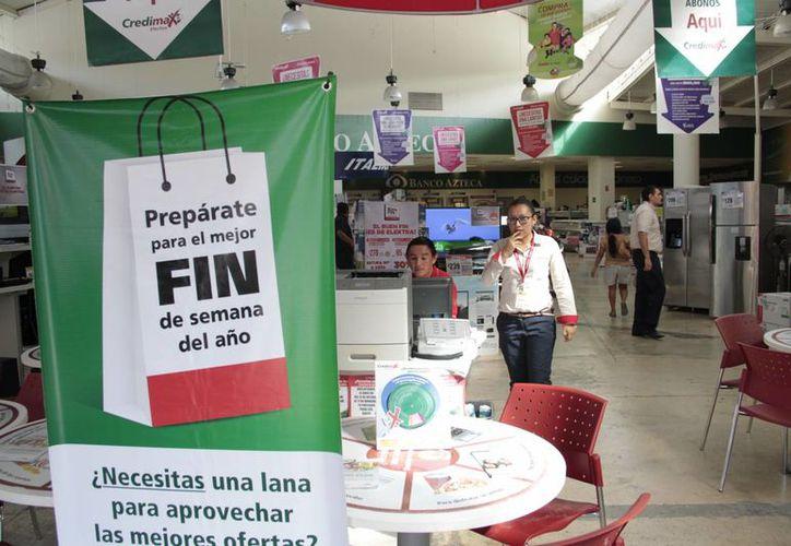El programa de descuentos culminará el 17 de noviembre. (Tomás Álvarez/SIPSE)