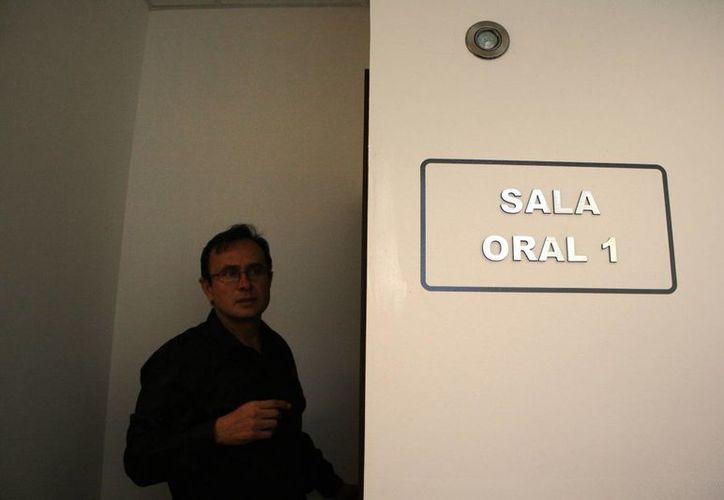 El martes de realizó la primera audiencia en las salas de juicios orales de Playa del Carmen. (Octavio Martínez/SIPSE)