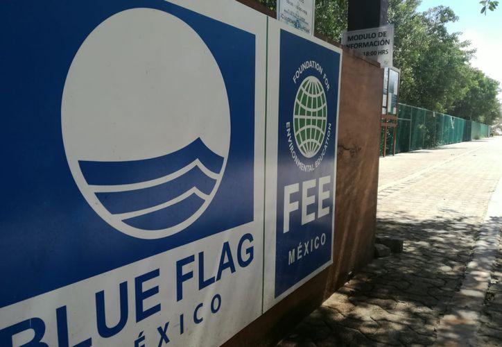 La Fundación para la Educación Ambiental en México certifica con Blue Flag a las playas. (Octavio Martínez/SIPSE)